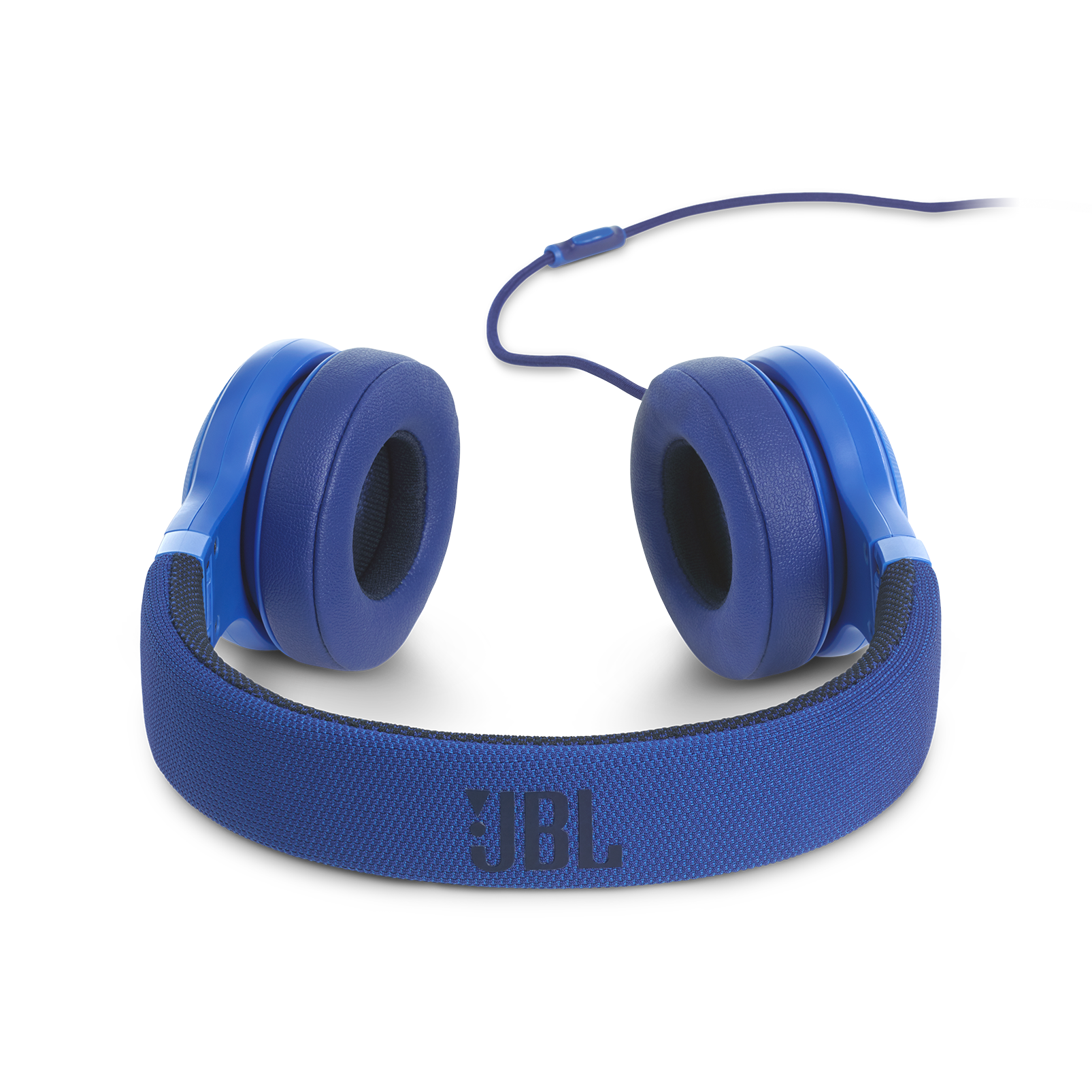 E35 - Blue - On-ear headphones - Detailshot 4