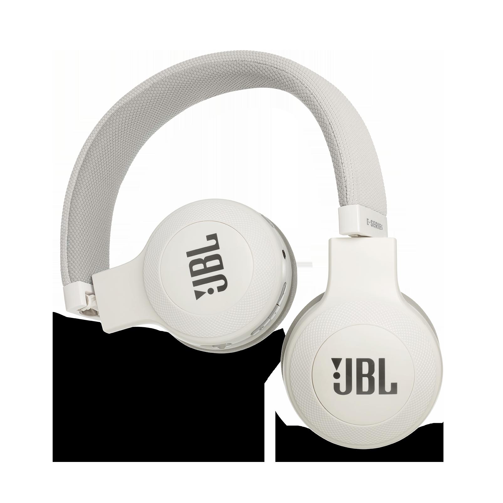 JBL E45BT - White - Wireless on-ear headphones - Detailshot 1
