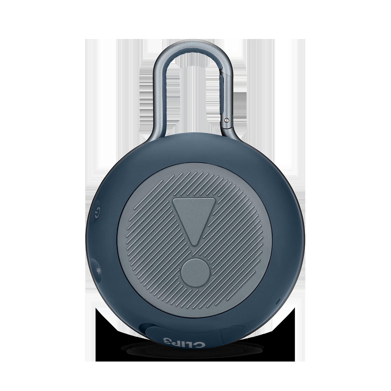JBL CLIP 3 - Ocean Blue - Portable Bluetooth® speaker - Back