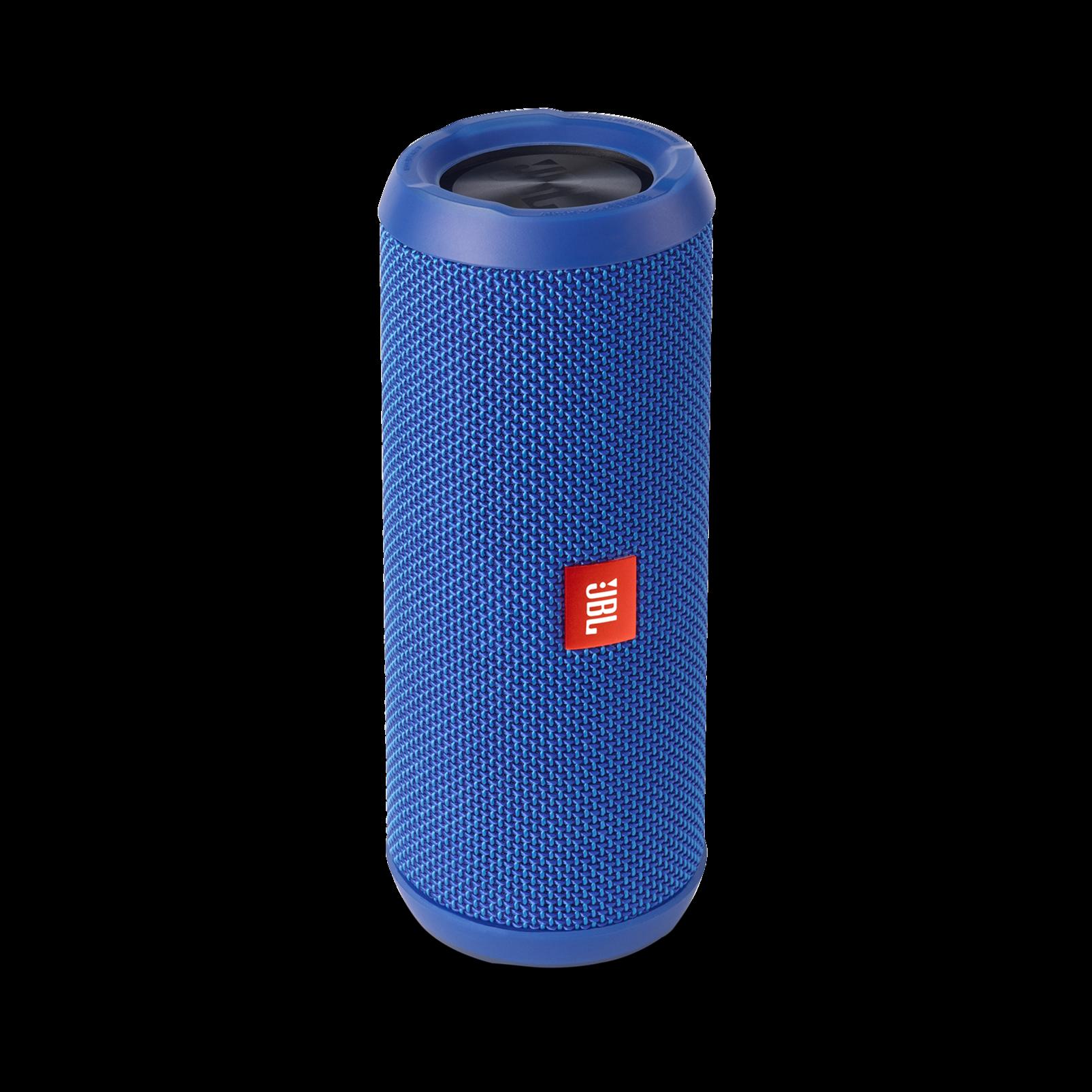 JBL Flip 3 - Blue - Splashproof portable Bluetooth speaker with powerful sound and speakerphone technology - Detailshot 2
