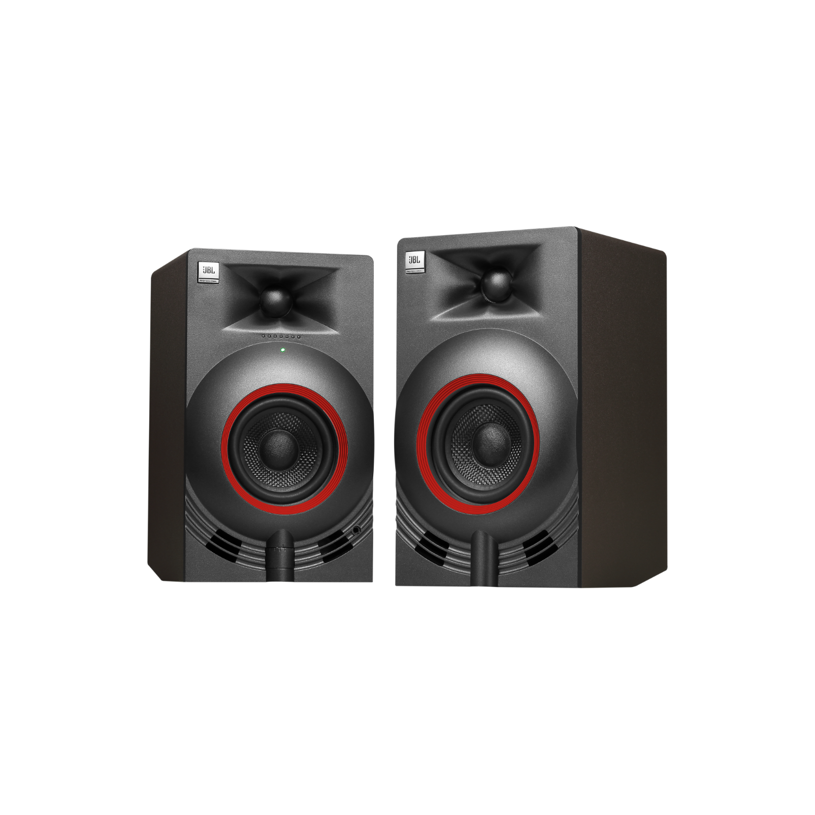 "NANO K3 - Black - 3"" (7.62 cm) Full-range Powered Monitor Pair - Hero"