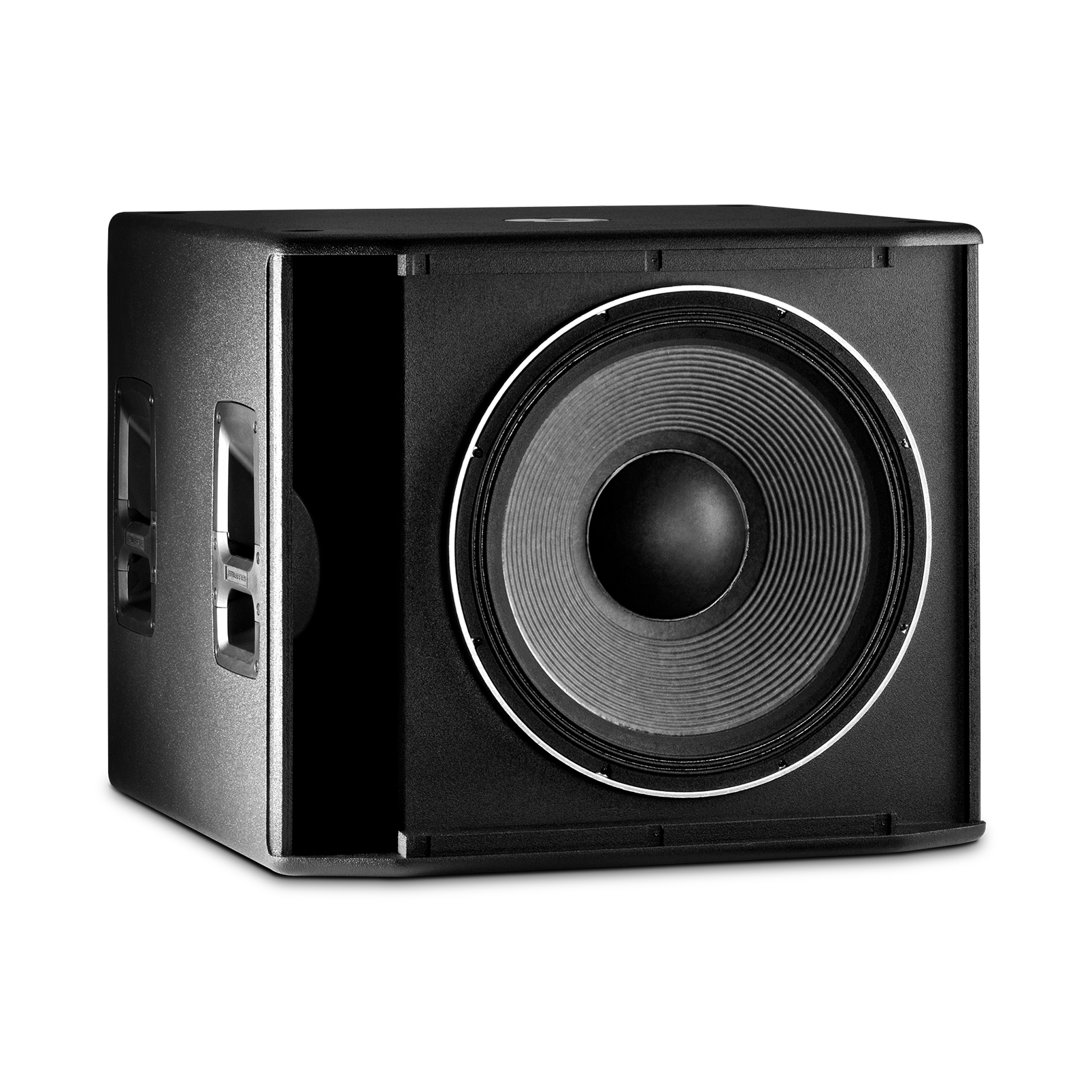 "JBL SRX818SP - Black - 18"" Self-Powered Subwoofer System - Detailshot 1"