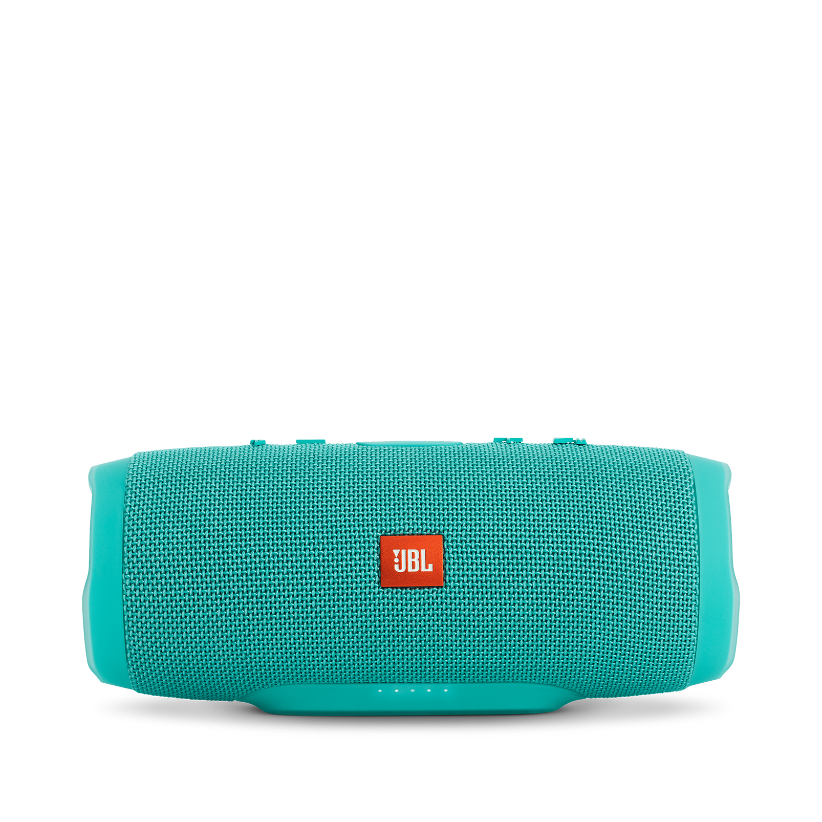 JBL Charge 3 - Teal - Full-featured waterproof portable speaker with high-capacity battery to charge your devices - Front